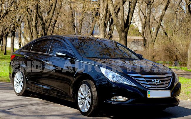 Аренда Hyundai Sonata на свадьбу Киев