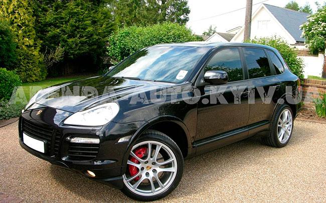 Аренда Porsche Cayen на свадьбу Київ