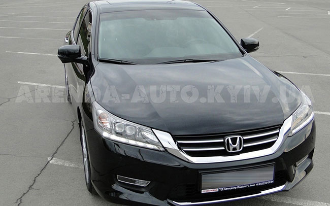 Аренда Honda Accord New на свадьбу Киев
