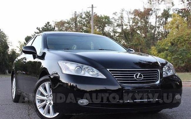 Аренда Lexus ES на свадьбу Київ