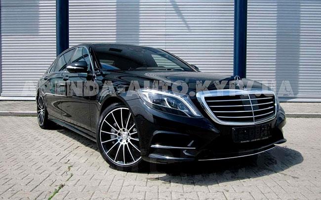 Аренда Mercedess S-Class W222 на свадьбу Київ