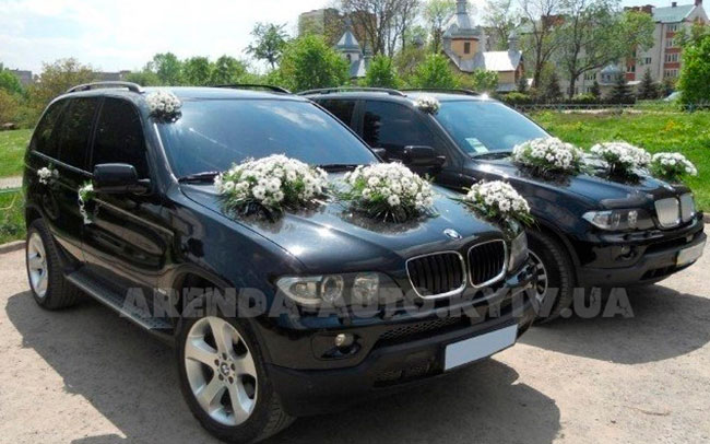 Аренда BMW X5 E53 на свадьбу Киев
