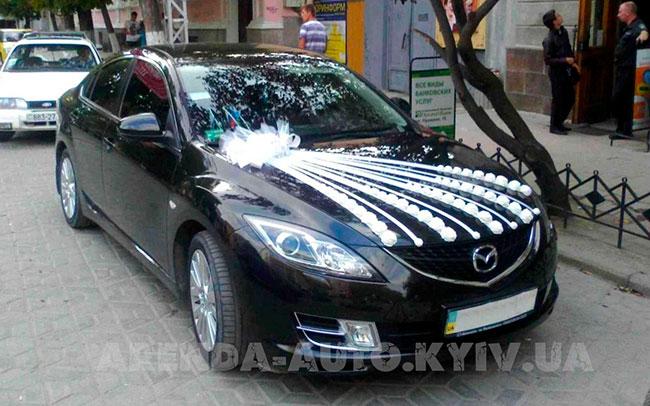Аренда Mazda 6 на свадьбу Київ