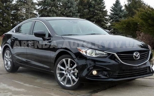 Аренда Mazda 6 New на свадьбу Київ