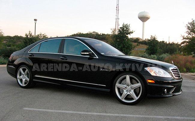 Аренда Mercedess S-Class W221 на свадьбу Київ