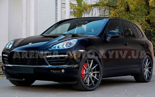 Аренда Porsche Cayenne New на свадьбу Киев
