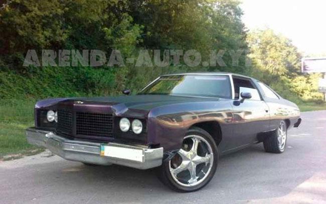 Аренда Chevrolet Impala 1975 на свадьбу Київ