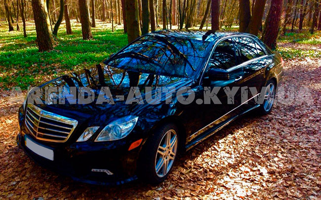Аренда Mercedess E-class w212 на свадьбу Киев