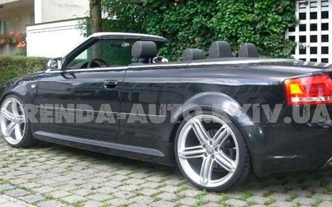 Аренда Audi A4 Cabrio на свадьбу Киев