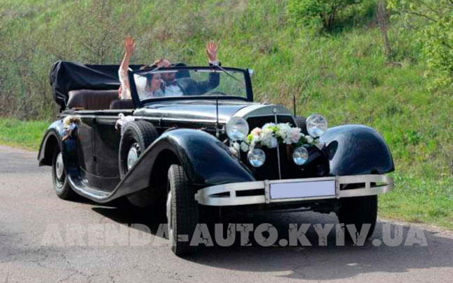 Аренда Mercedes retro на свадьбу Киев