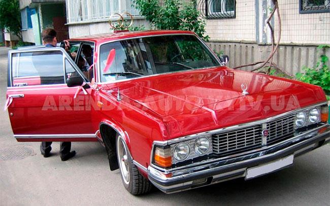 Аренда Чайка Газ 14 1981 на свадьбу Киев