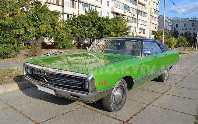 Аренда Chrysler New York 1970 на свадьбу Киев