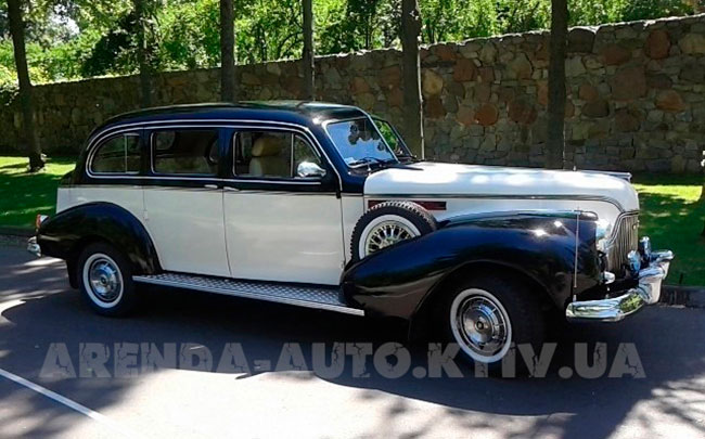 Аренда Buick 1940 на свадьбу Київ