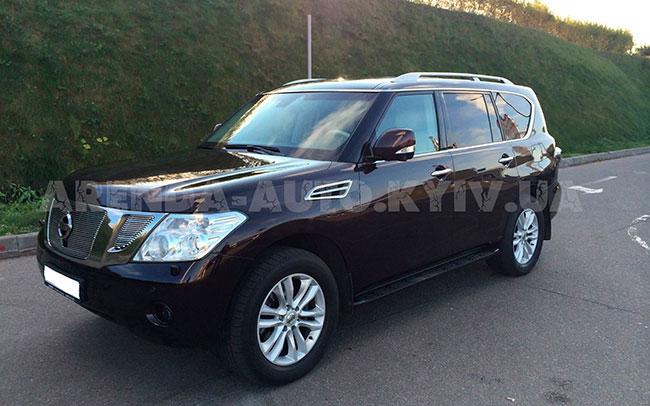 Аренда Nissan Patrol на свадьбу Киев