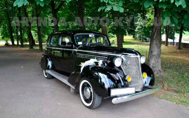 Аренда Chevrolet Master Delux 1938 на свадьбу Київ