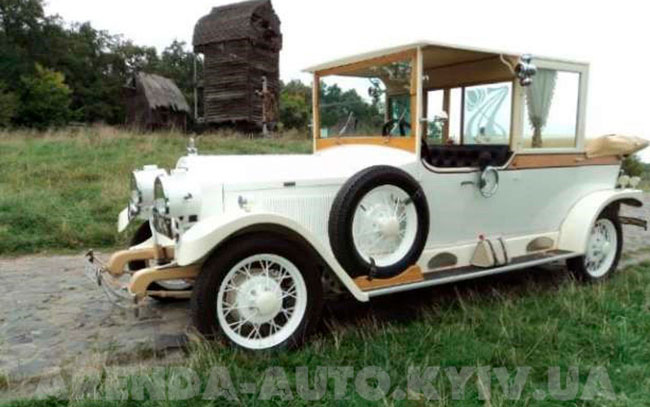 Аренда Rolls-Royce 1914 на свадьбу Киев
