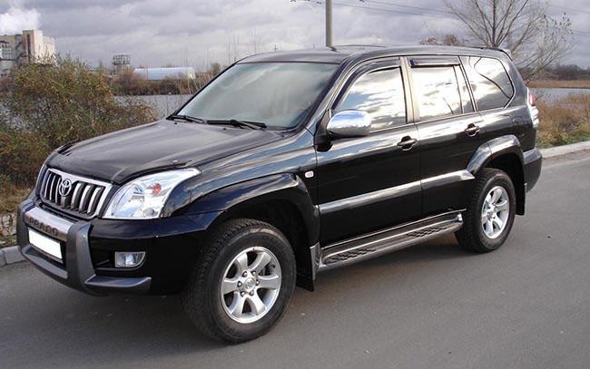 Аренда Toyota Land Cruiser Prado на свадьбу Киев