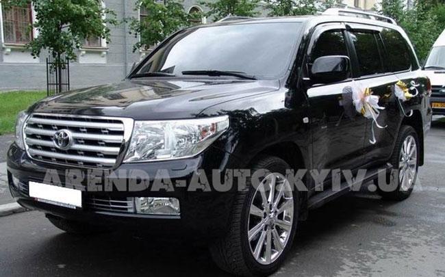 Аренда Toyota Land Cruiser 200 на свадьбу Киев