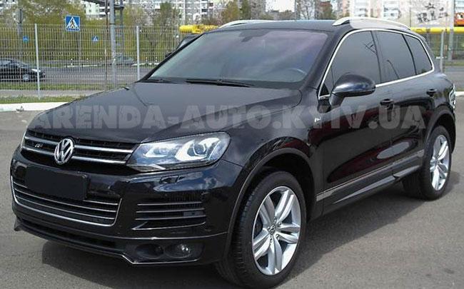 Аренда Volkswagen Toureg New на свадьбу Київ
