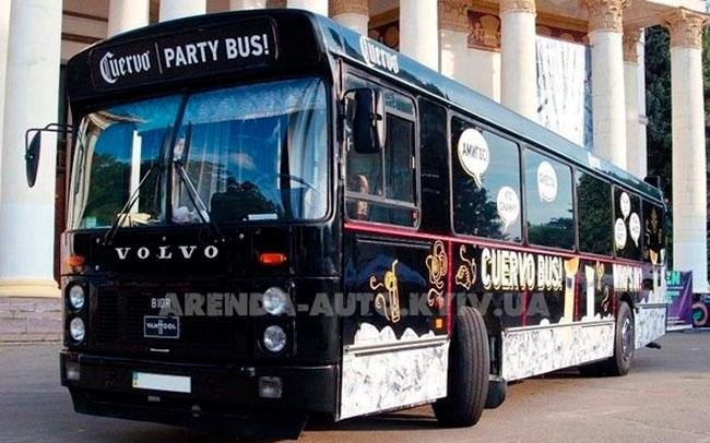 Аренда Party Concert Bus на свадьбу Київ