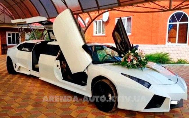 Аренда Lamborghini Reventon 2015 год, 8 метров на свадьбу Київ