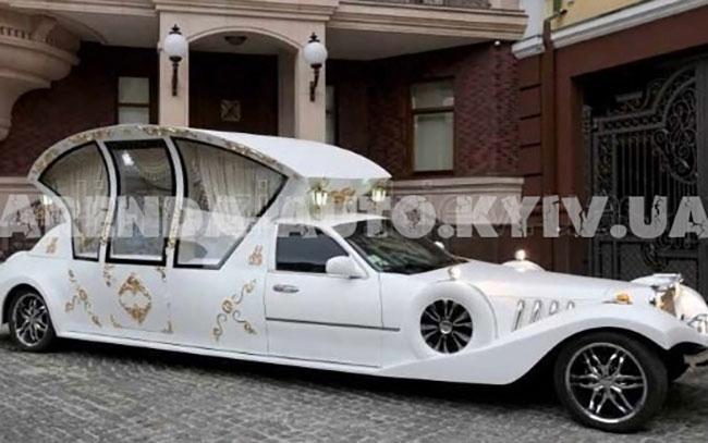Аренда Карета Экскалибур на свадьбу Киев