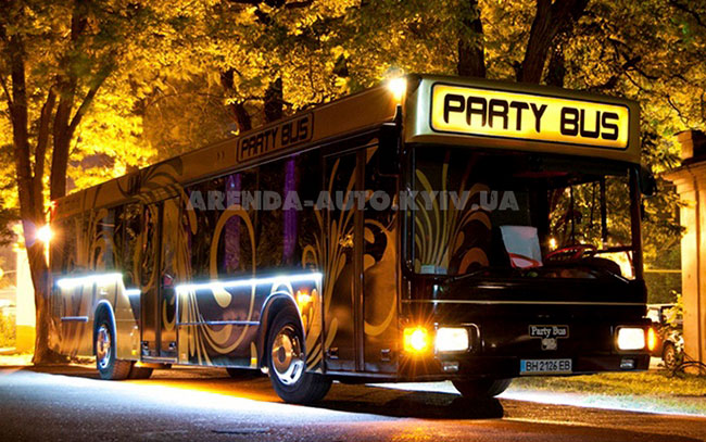 Аренда Party Bus