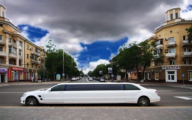 Аренда Лимузин Mercedes-Benz W221 на свадьбу Киев