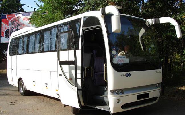 Аренда Mitsubishi Temsa Opaline 9 на свадьбу Киев