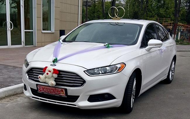 Аренда Ford Fusion на свадьбу Киев