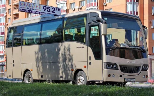 Аренда Автобус Isuzu Turkuaz на свадьбу Киев