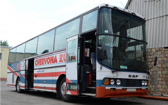 Аренда Автобус DAF на свадьбу Киев