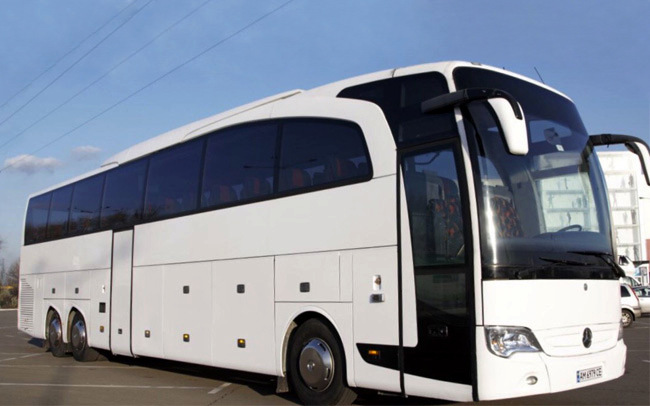 Аренда Автобус Mercedes 57 мест на свадьбу Киев