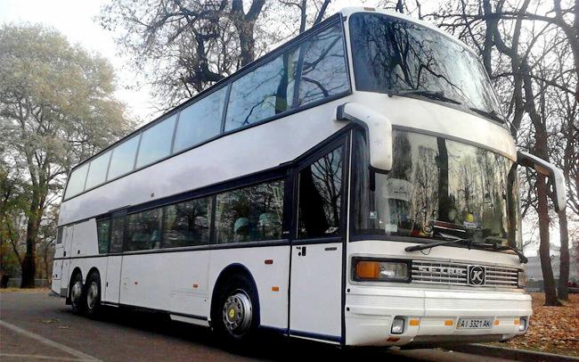 Аренда Автобус Setra 70 мест на свадьбу Киев