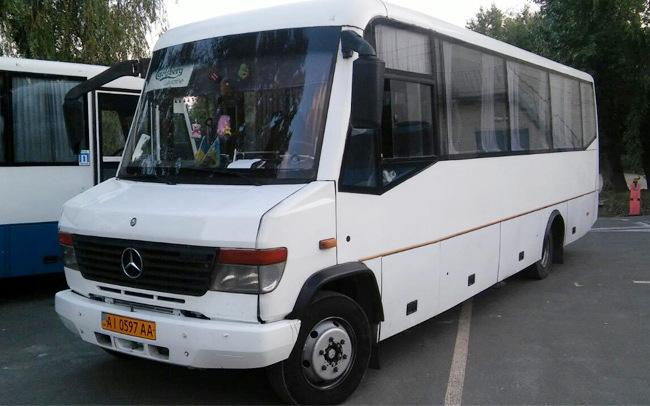 Аренда Автобус Mercedes Vario на свадьбу Киев