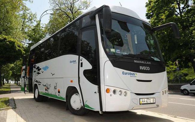 Аренда Автобус Iveco 31 место на свадьбу Киев