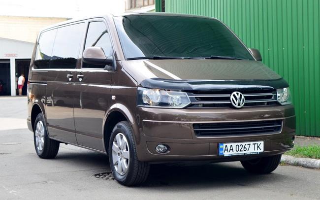 Аренда Volkswagen Caravelle на свадьбу Киев