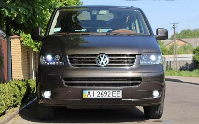 Аренда Volkswagen Transporter T5 на свадьбу Киев