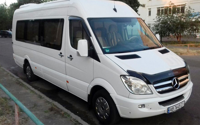 Аренда Mercedes Sprinter на свадьбу Киев