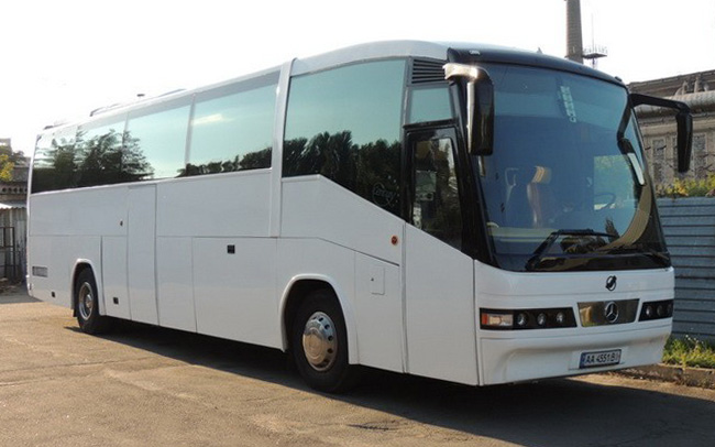 Аренда Автобус Mercedes Irizar на свадьбу Киев