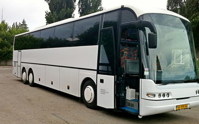 Аренда Автобус Neoplan 316 на свадьбу Киев