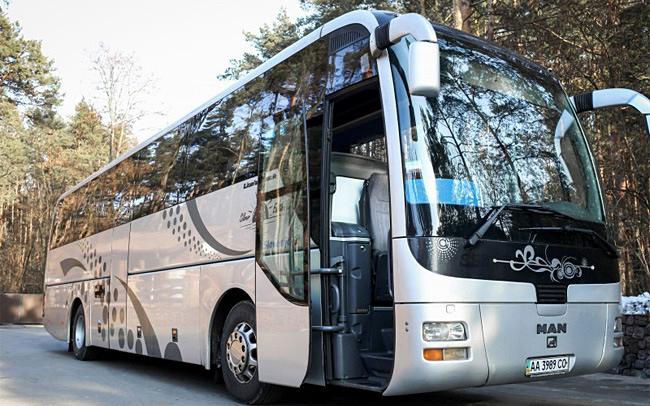Аренда Автобус MAN R07 на свадьбу Киев