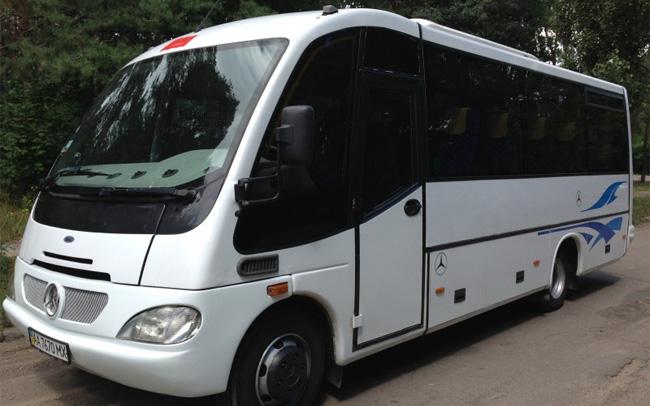 Аренда Автобус Mercedes Beluga на свадьбу Киев
