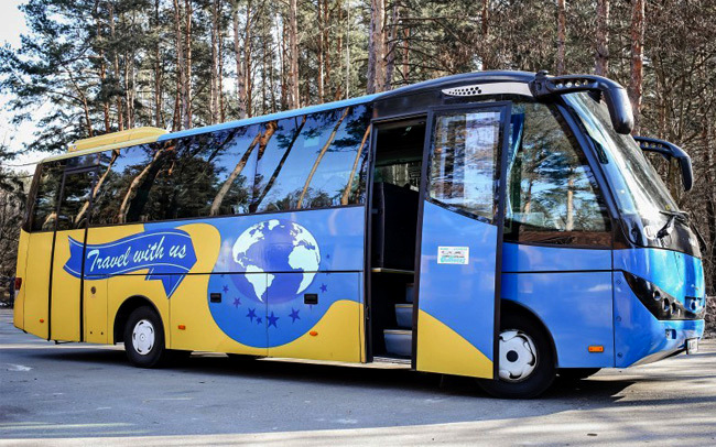 Аренда Автобус MAN Dexton на свадьбу Киев