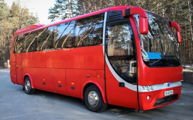 Аренда Автобус MAN Temsa на свадьбу Киев