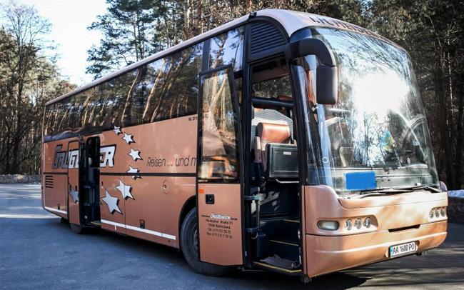 Аренда Автобус Neoplan 313 SHD на свадьбу Киев