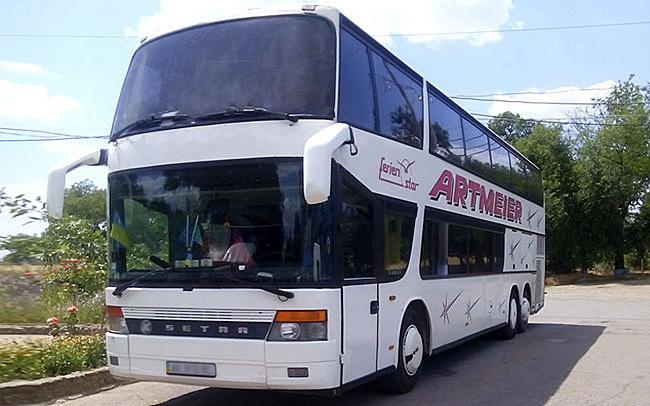 Аренда Автобус Setra 328 на свадьбу Киев