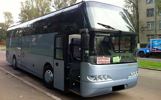 Аренда Автобус Neoplan 116 на свадьбу Киев