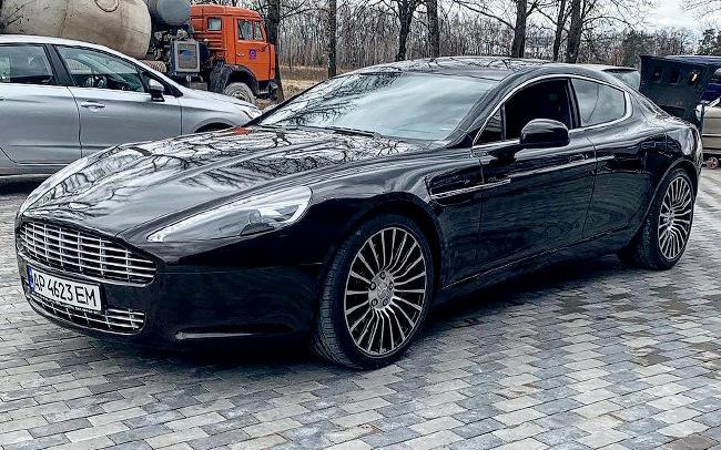 Аренда Aston Martin Rapide на свадьбу Киев