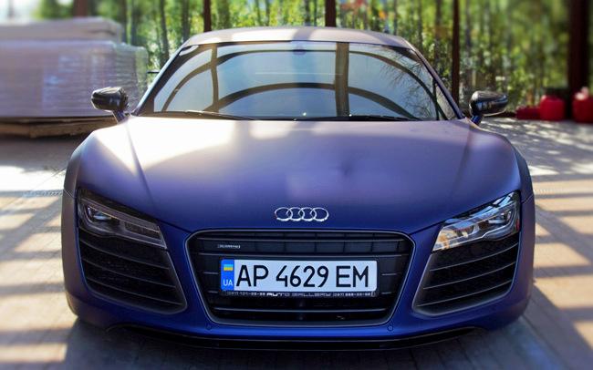 Аренда Audi R8 на свадьбу Киев